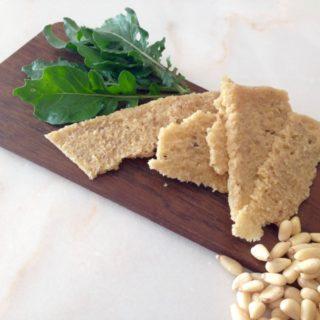 Pine nut Parmesan