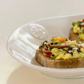 Avocado and Nori Toast